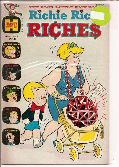 Richie Rich Riches # 3, 6.5 FN +