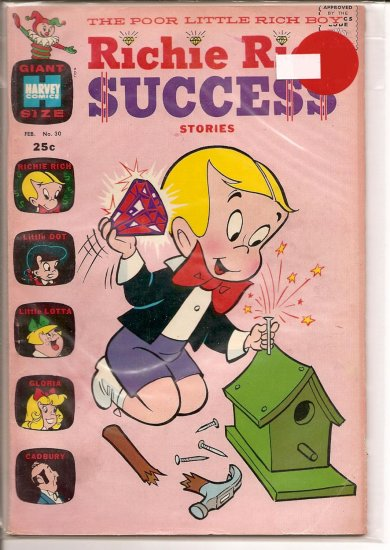 Richie Rich Success Stories # 30, 4.5 VG +