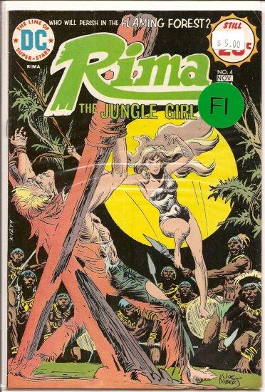 Rima, The Jungle Girl # 4, 6.0 FN