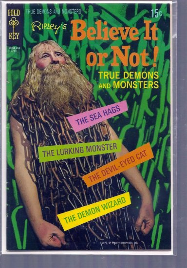 RIPLEY'S BELIEVE IT OR NOT! TRUE DEMONS AND MONSTERS # 19, 6.0 FN