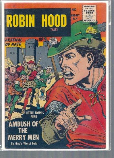 ROBIN HOOD TALES # 4, 4.0 VG