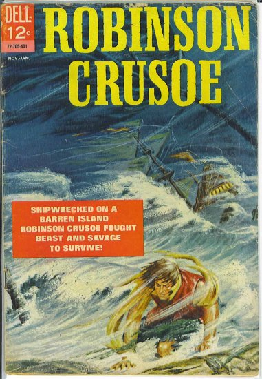 Robinson Crusoe # 1, 3.5 VG -