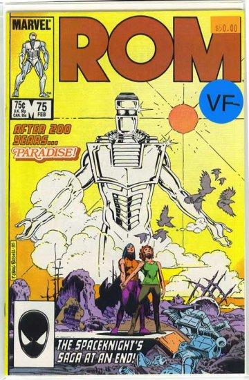 Rom # 75, 7.5 VF -