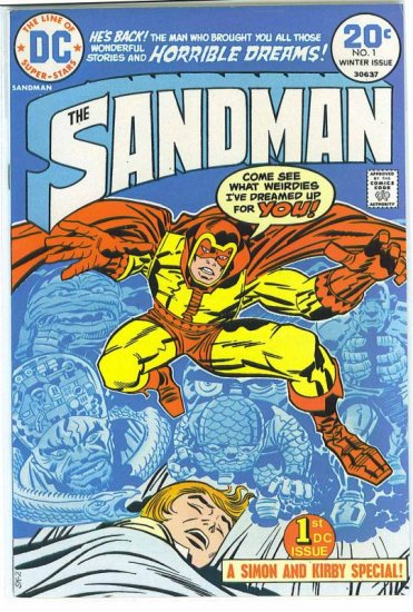 Sandman # 1, 4.0 VG