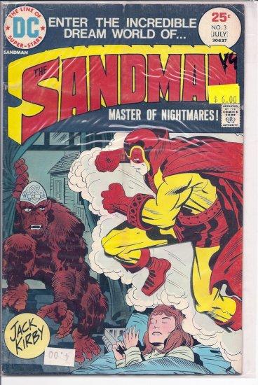 Sandman # 3, 4.0 VG