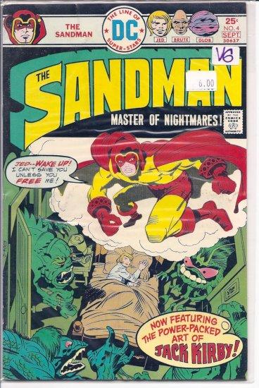 Sandman # 4, 4.0 VG