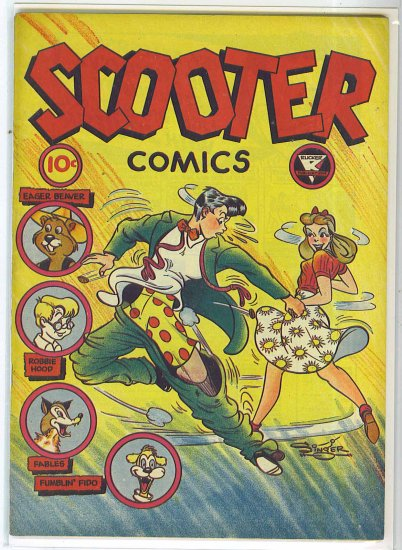 Scooter Comics # 1, 6.0 FN