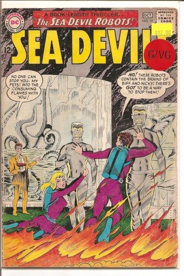 Sea Devils # 19, 3.0 GD/VG