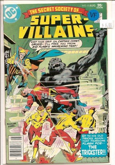 Secret Society Of Super-Villains # 8, 8.0 VF