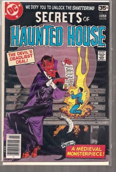 SECRETS OF HAUNTED HOUSE # 10, 4.5 VG +