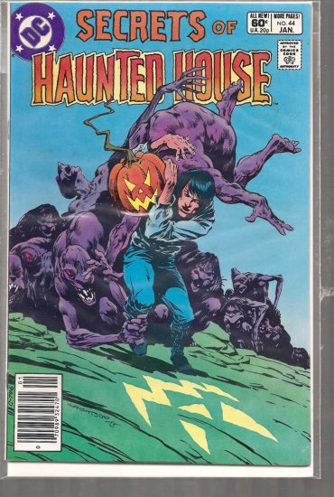 SECRETS OF HAUNTED HOUSE # 44, 7.0 FN/VF