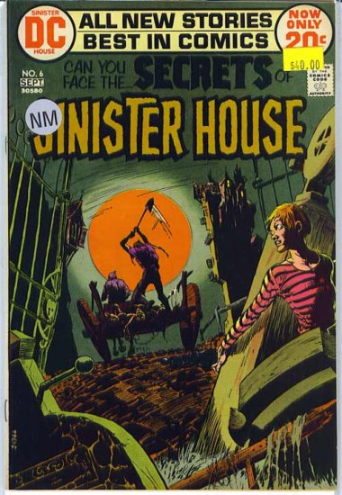 Secrets of Sinister House # 6, 9.2 NM -
