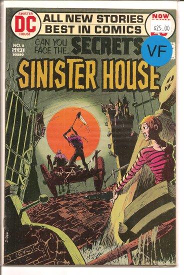 Secrets of Sinister House # 6, 8.0 VF