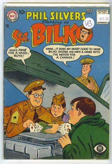 Sergeant Bilko # 6, 4.0 VG