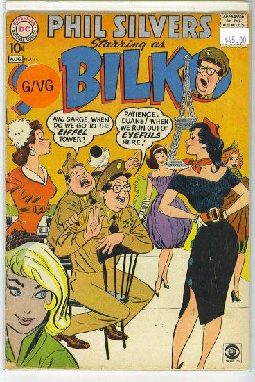 Sergeant Bilko # 14, 3.0 GD/VG