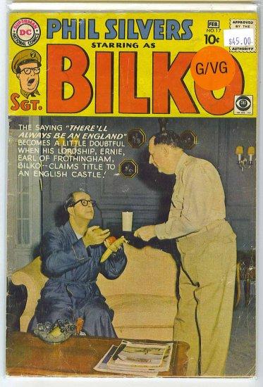 Sergeant Bilko # 17, 3.0 GD/VG