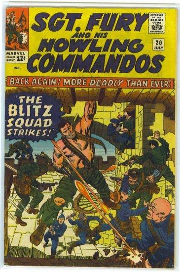 Sgt. Fury # 20, 4.5 VG +