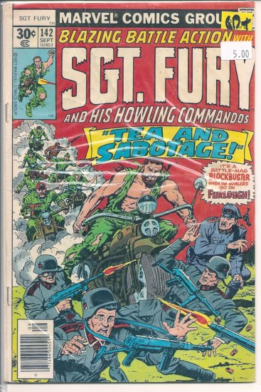 Sgt. Fury # 142, 2.5 GD +