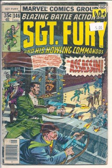 Sgt. Fury # 146, 2.5 GD +
