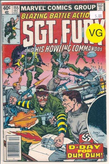 Sgt. Fury # 155, 4.0 VG