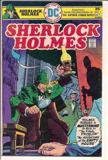 SHELOCK HOLMES # 1, 4.5 VG +