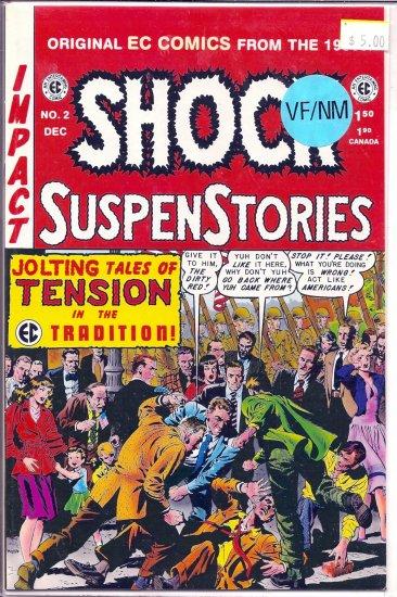 Shock Suspenstories # 2, 9.0 VF/NM