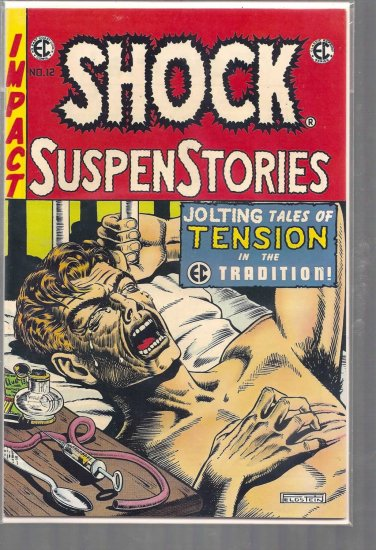 SHOCK SUSPENSTORIES # 12, 8.0 VF