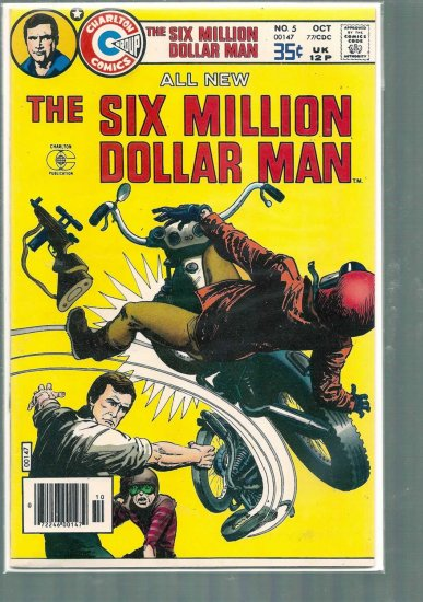 SIX MILLION DOLLAR MAN # 5, 7.0 FN/VF