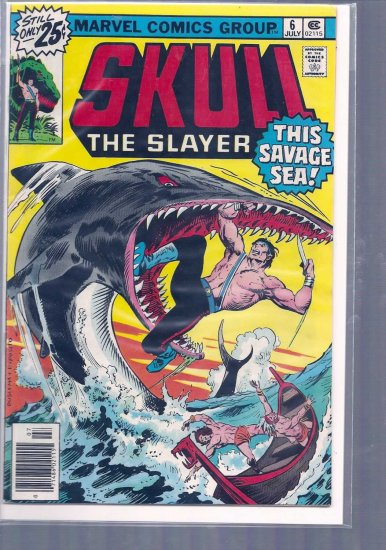 SKULL THE SLAYER # 6, 4.5 VG +