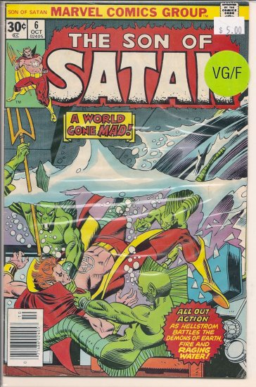 Son of Satan # 6, 5.0 VG/FN