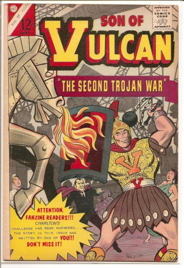 Son of Vulcan # 50, 4.5 VG +