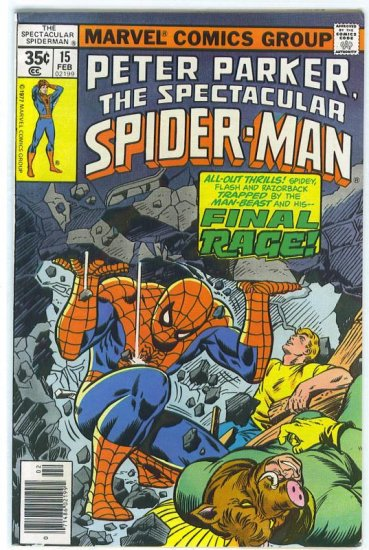 Spectacular Spider-Man # 15, 5.5 FN -