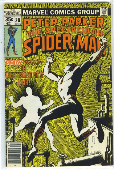 Spectacular Spider-Man # 20, 4.5 VG +