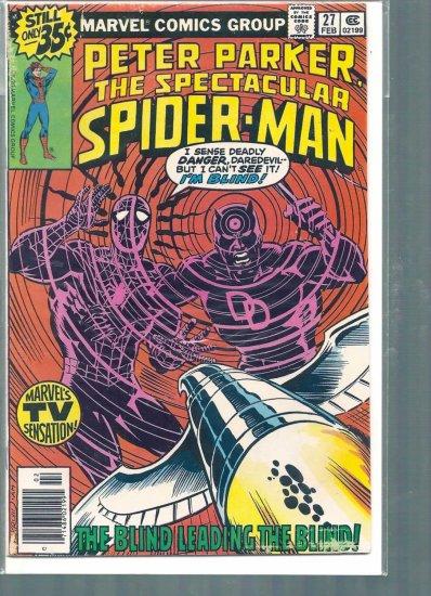 SPECTACULAR SPIDER-MAN # 27, 6.0 FN