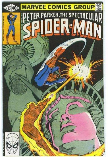 Spectacular Spider-Man # 42, 8.5 VF +