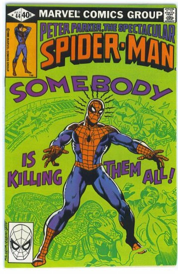 Spectacular Spider-Man # 44, 7.0 FN/VF