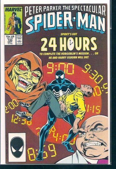 SPECTACULAR SPIDER-MAN # 130, 9.2 NM -