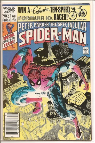 Spectacular Spider-Man, Peter Parker # 60, 8.0 VF