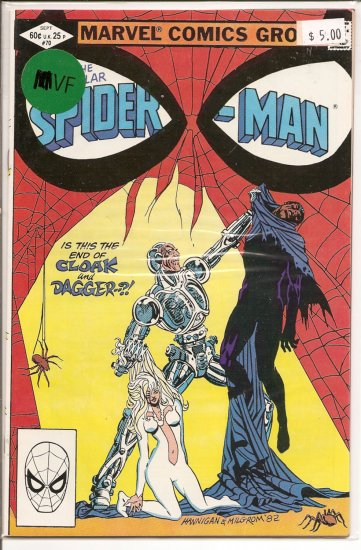 Spectacular Spider-Man, Peter Parker # 70, 8.0 VF