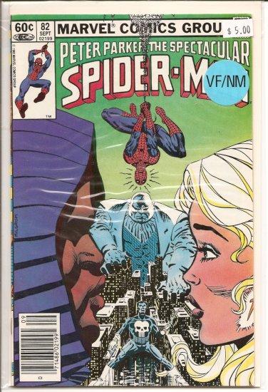 Spectacular Spider-Man, Peter Parker # 82, 9.0 VF/NM