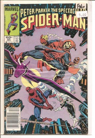 Spectacular Spider-Man, Peter Parker # 85, 5.5 FN -