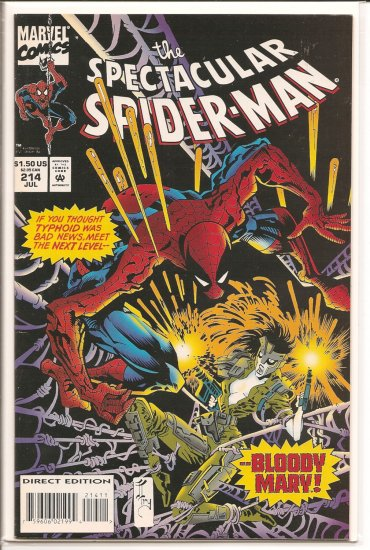 Spectacular Spider-Man, Peter Parker # 214, 9.0 VF/NM