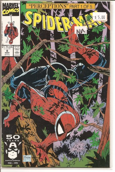 Spider-Man # 8, 9.4 NM