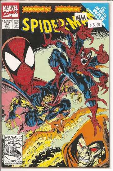 Spider-Man # 24, 9.4 NM