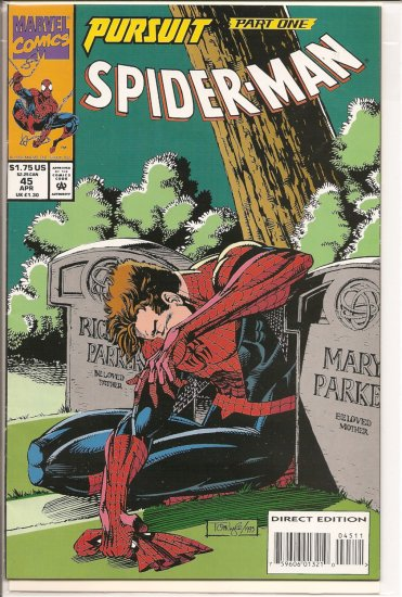Spider-Man # 45, 8.0 VF