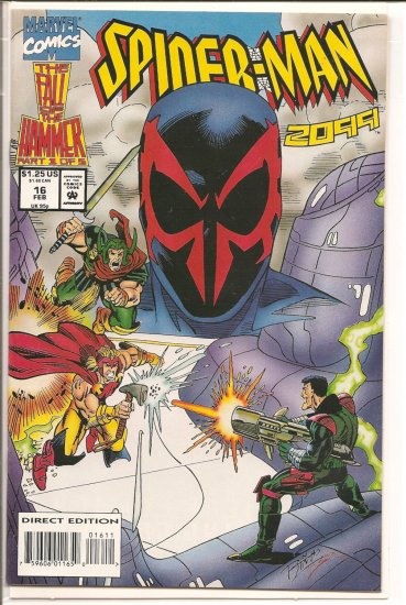 Spider-Man 2099 # 16, 7.0 FN/VF
