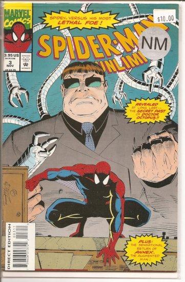 Spider-Man Unlimited # 3, 9.4 NM