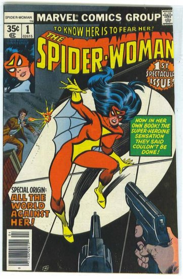 Spider-Woman # 1, 9.0 VF/NM