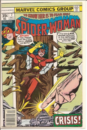 Spider-Woman # 7, 6.0 FN