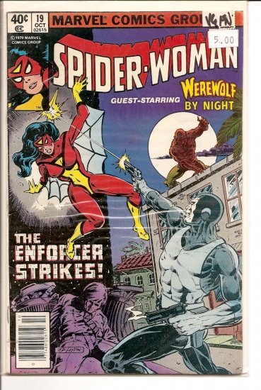 Spider-Woman # 19, 5.0 VG/FN